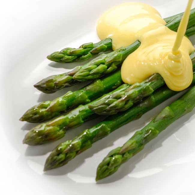 asparges.hollandaise
