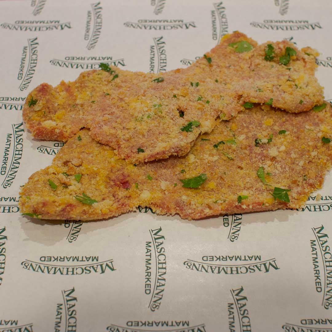 Wienerschnitzel lager hver uke på Maschmanns