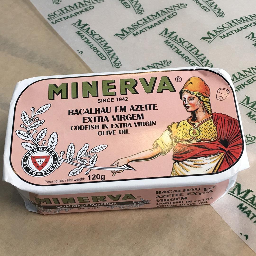 Minerva codfish in olive oil