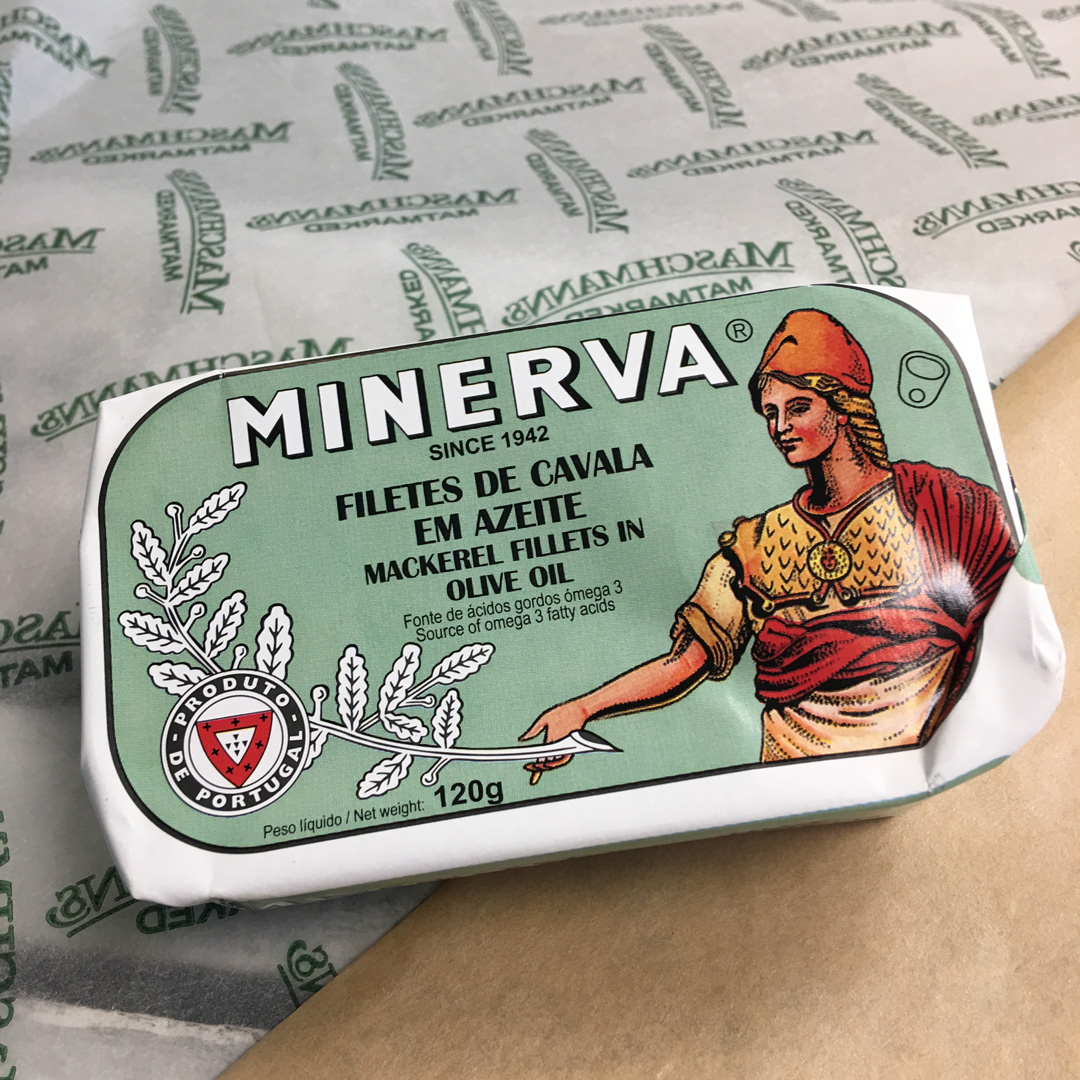 MInerva mackerel in olive oil