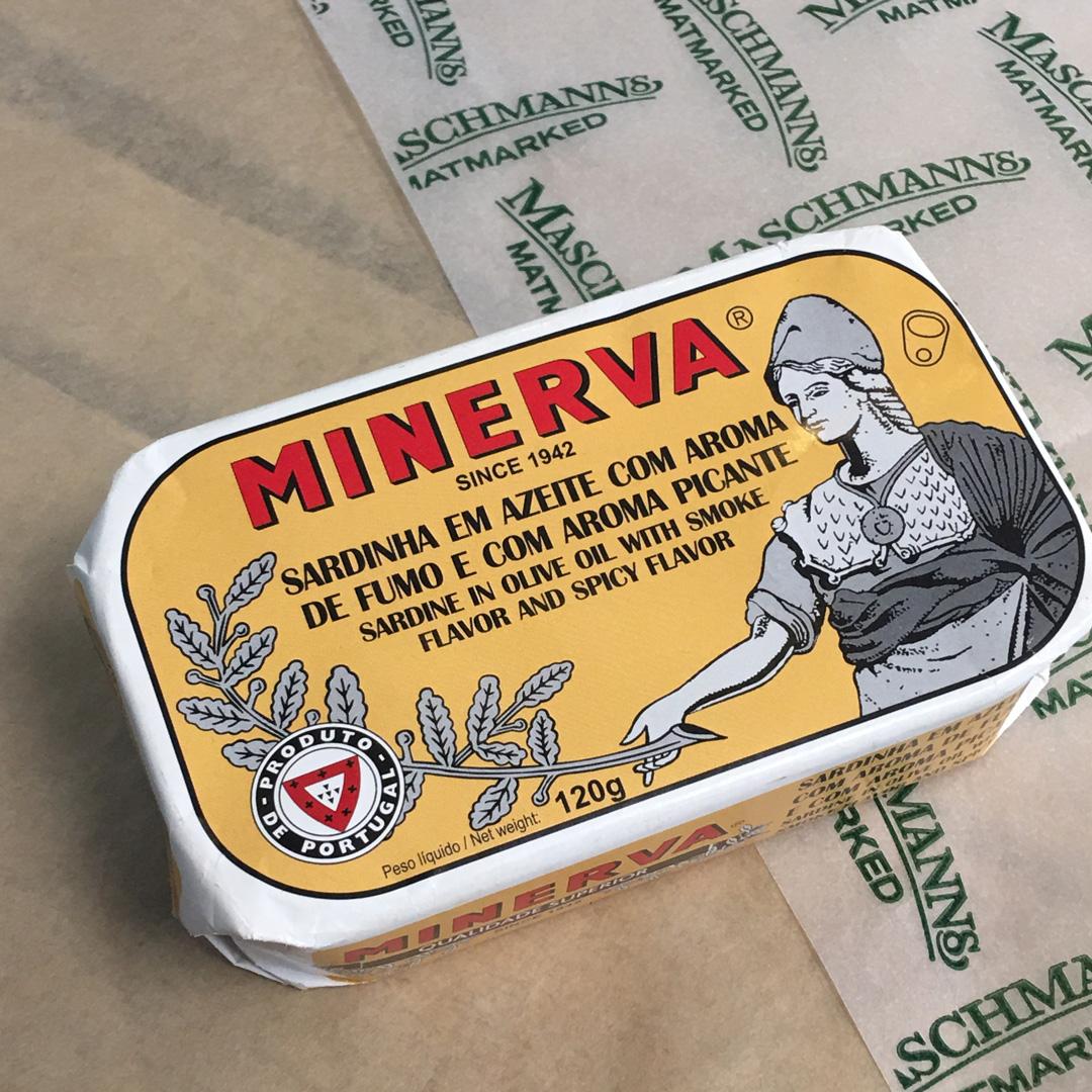 Minerva sardines i smoked hot olive oil