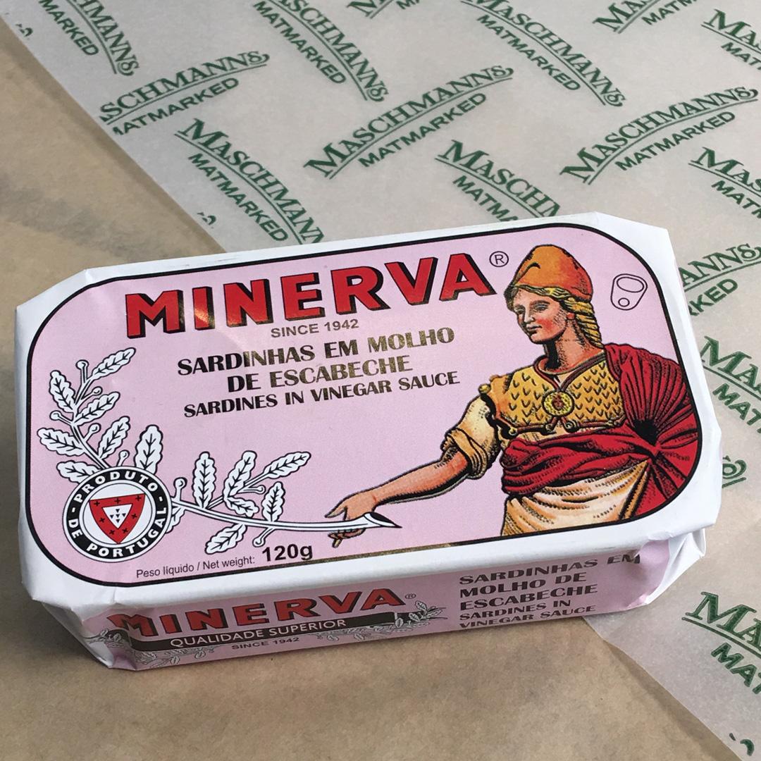Minerva sardines in vinegar