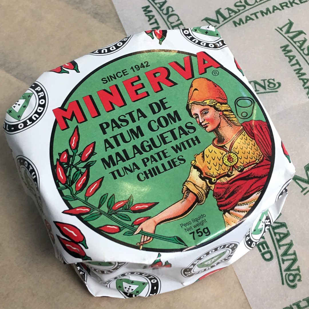 Minerva pate with chillies