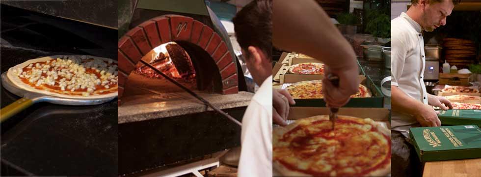 Italiensk Pizza fra Maschmanns Bakeri og Pizzeria på Skøyen