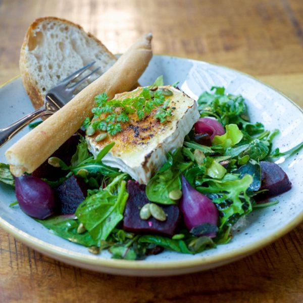 Salat fra Maschmanns Bakeri