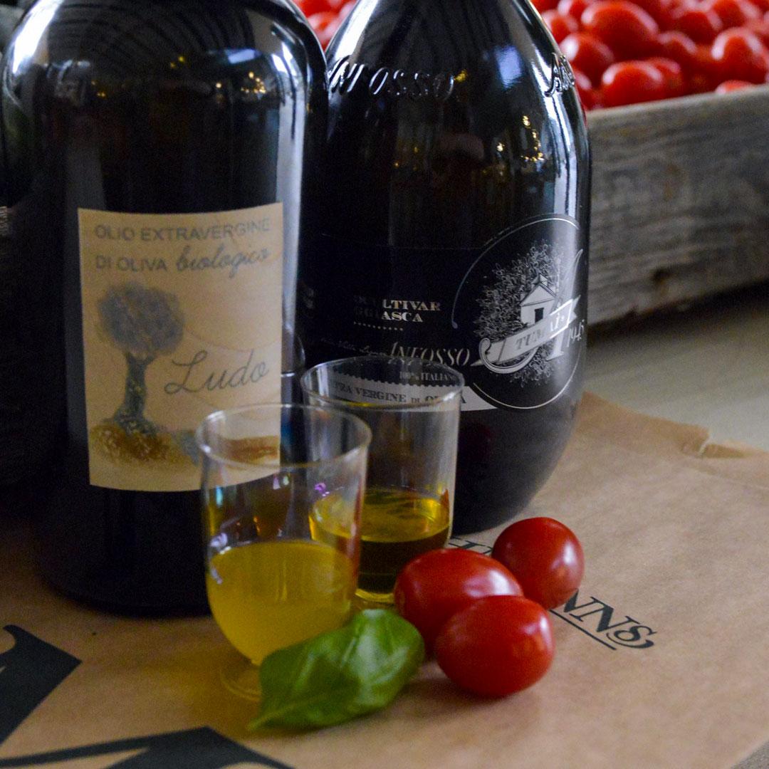 taggiasca olivenolje