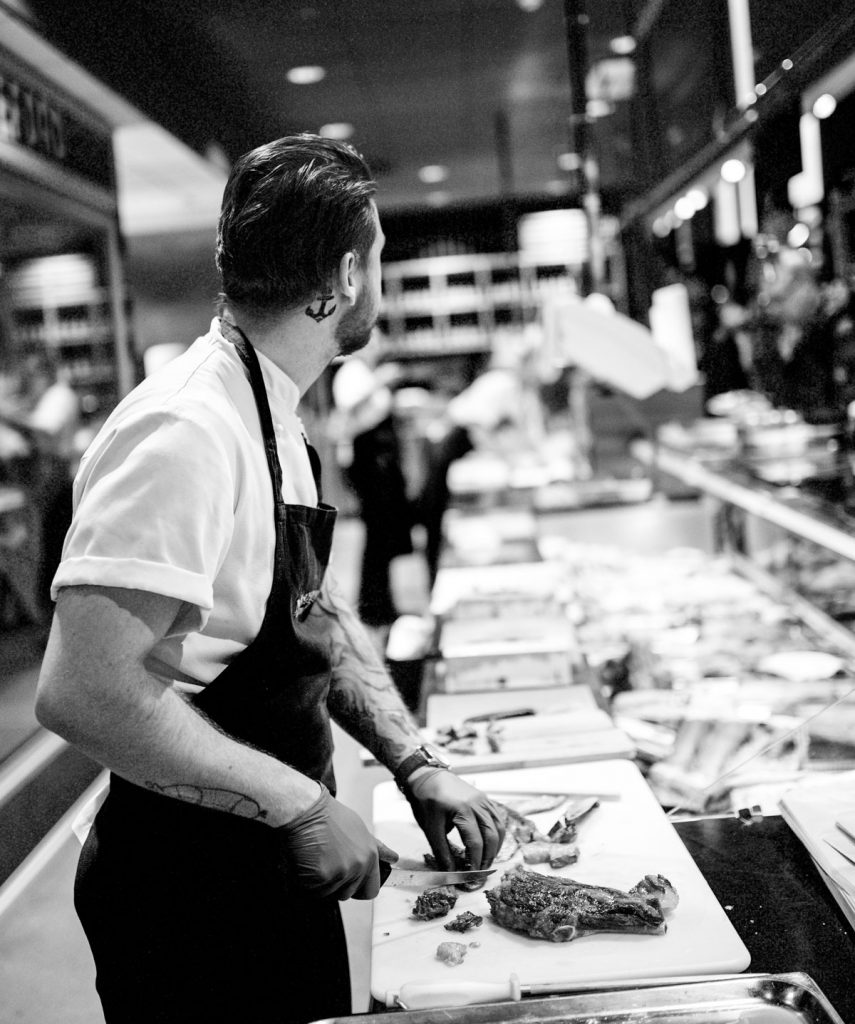 Butcher at Maschmanns
