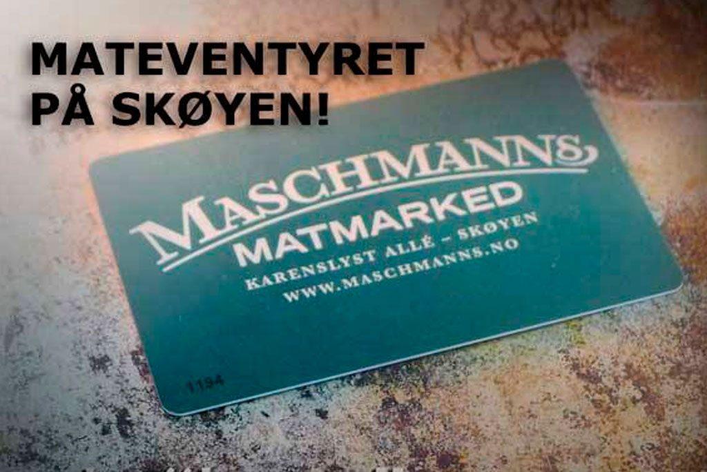 Gavekort fra Maschmanns
