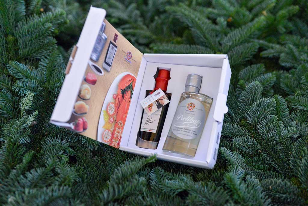 Balsamico fra Modena: Julekurv fra Maschmanns