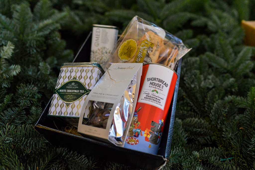 Godt og blandet: Julekurv fra Maschmanns