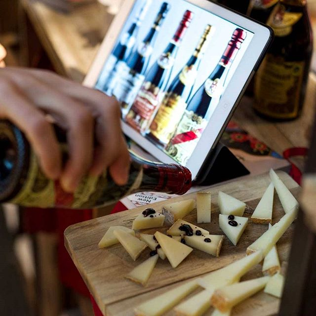 Manchego and balsamico from Maschmanns