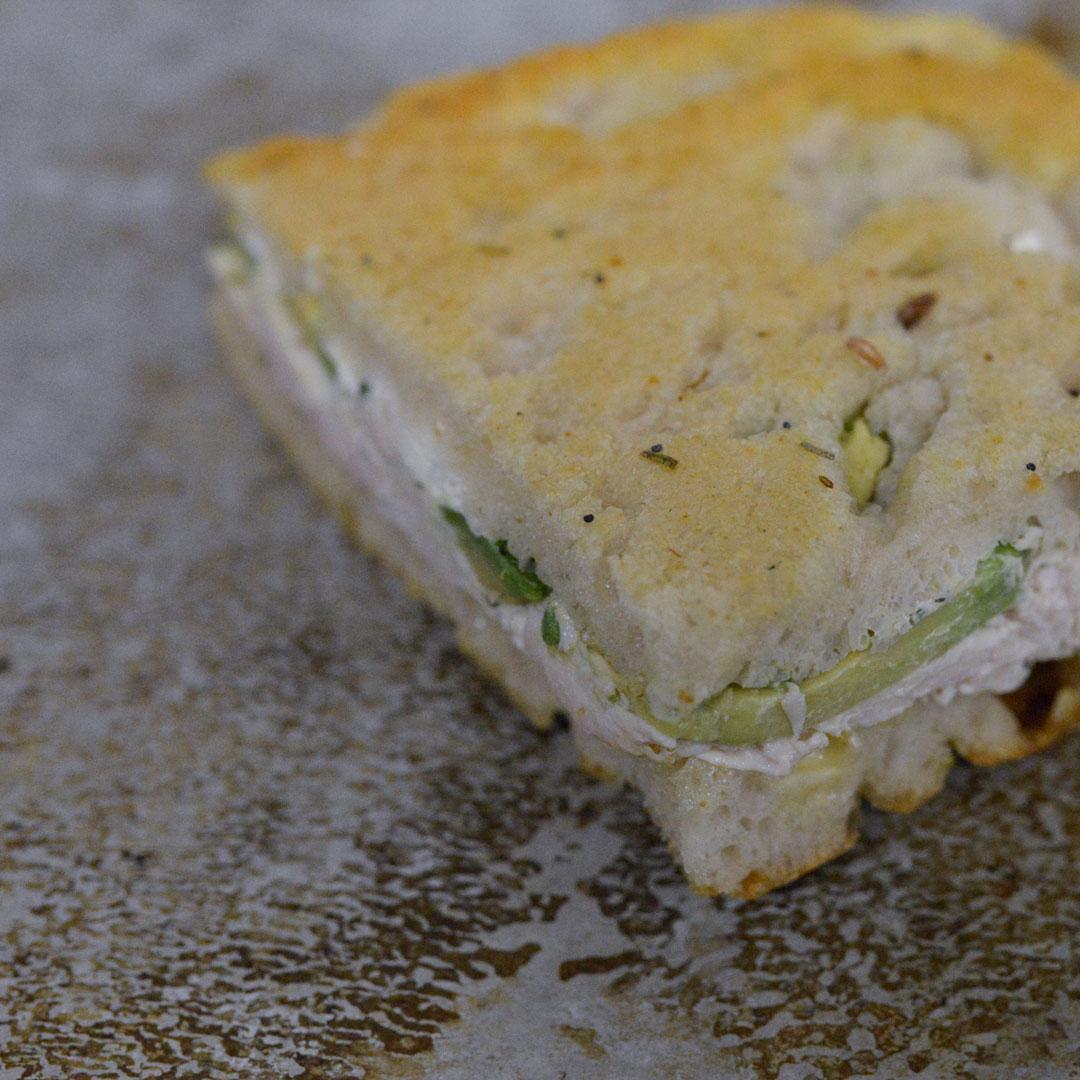 Kyllingsandwich fra Maschmanns Bakeri
