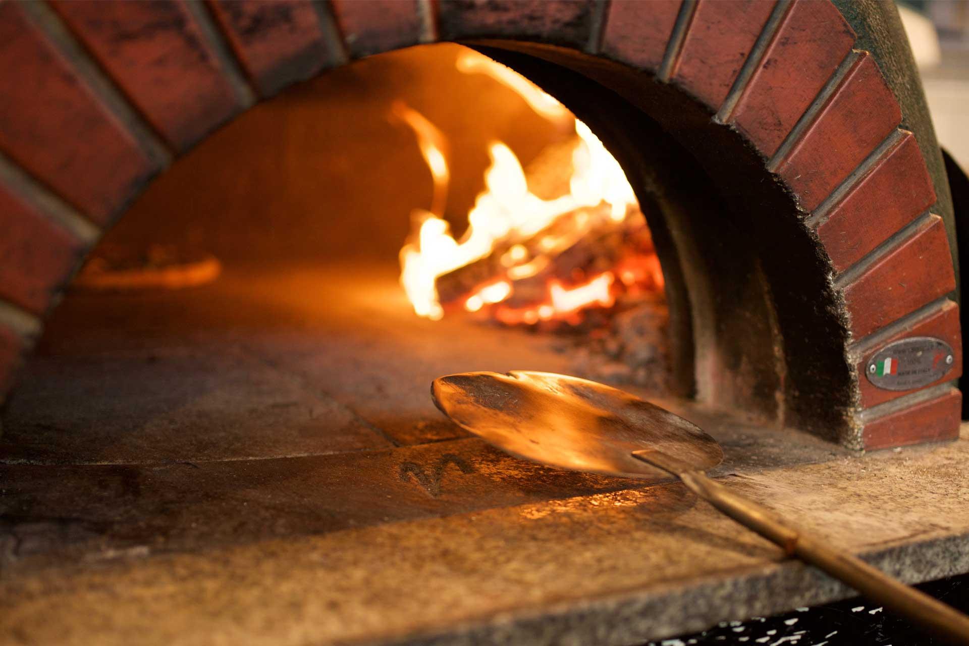 Italiensk pizza fra Maschmanns