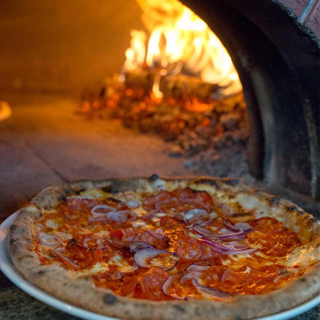 Pizzaovn hos Maschmanns på Skøyen