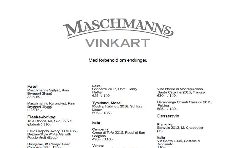 Maschmanns Vinkart