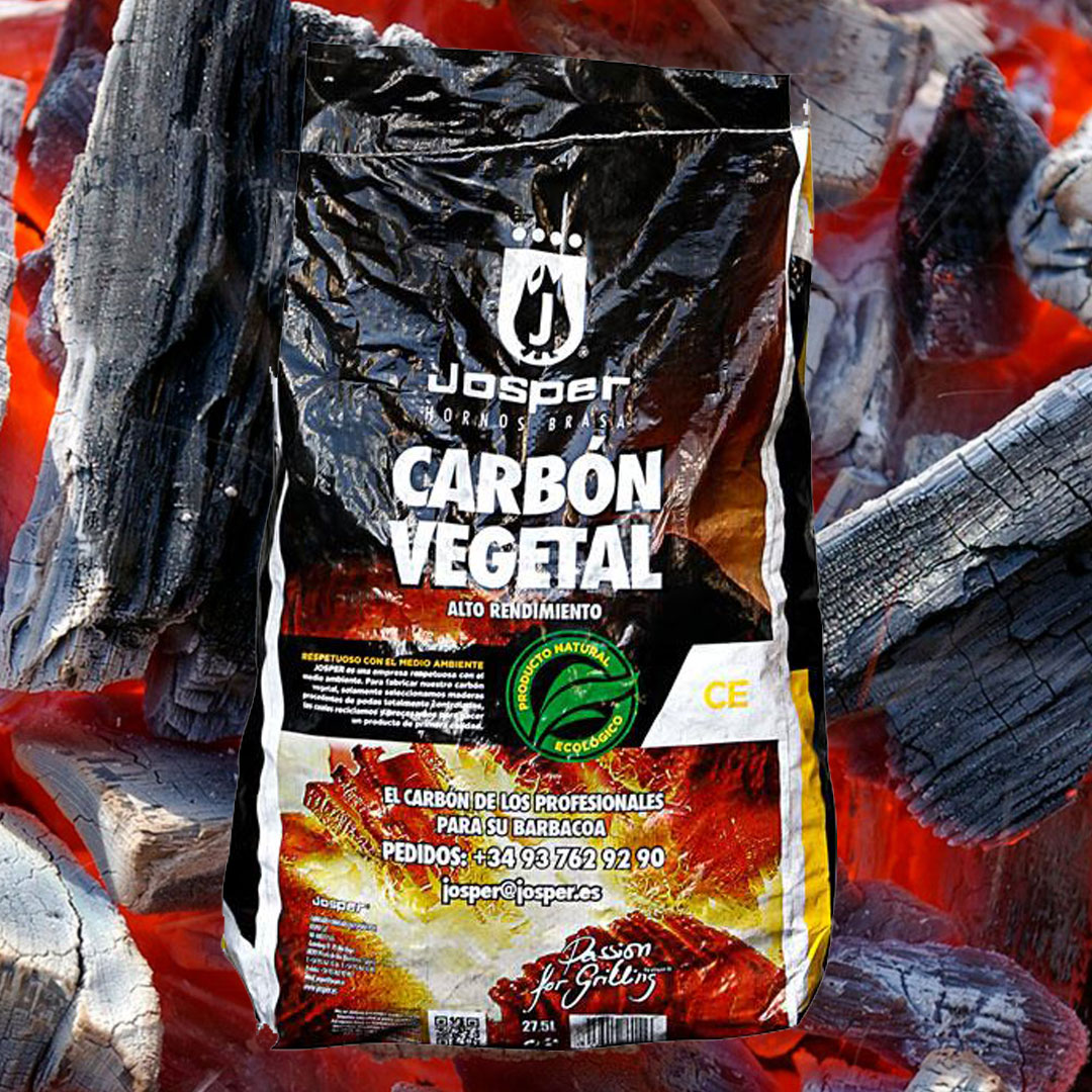 Josper carbon vegetal fra Maschmanns