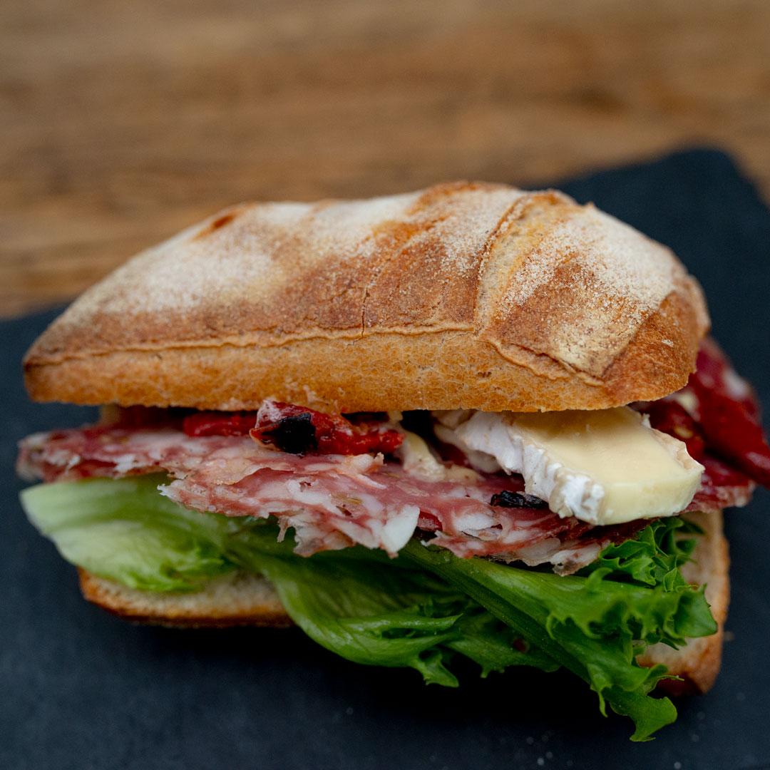 Ciabatta Sandwich fra Maschmanns Bakeri