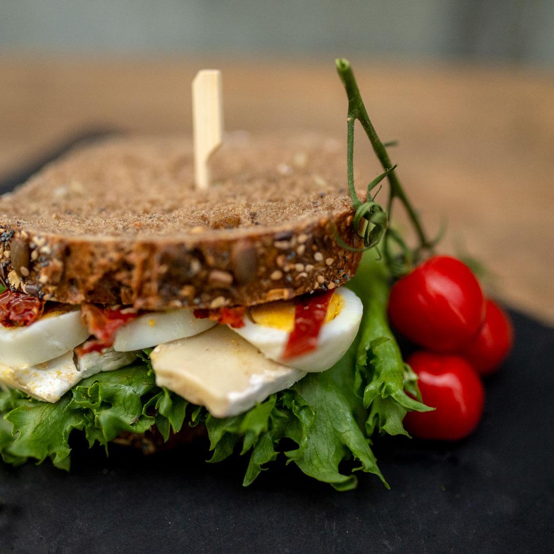 Vegetar Sandwich fra Maschmanns Bakeri