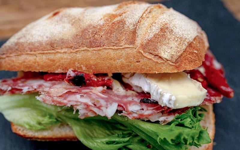Sandwich fra Maschmanns Bakeri