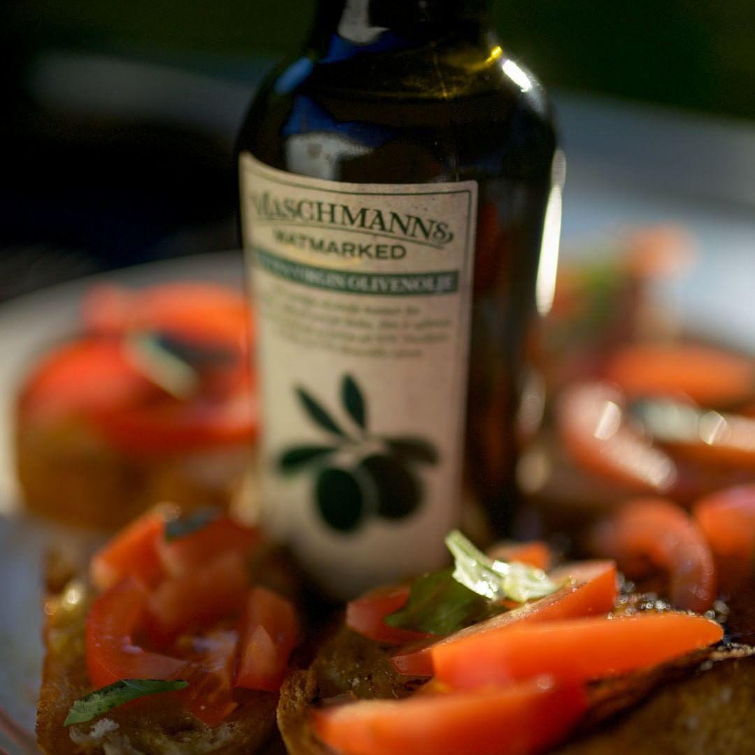 Ekstra jomfru olivenolje - perfekt vertinnegave