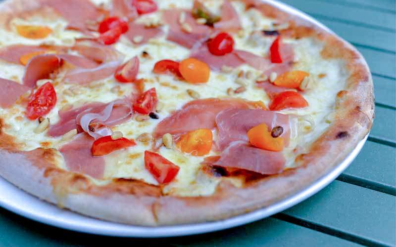 Maschmanns pizza parma bianco