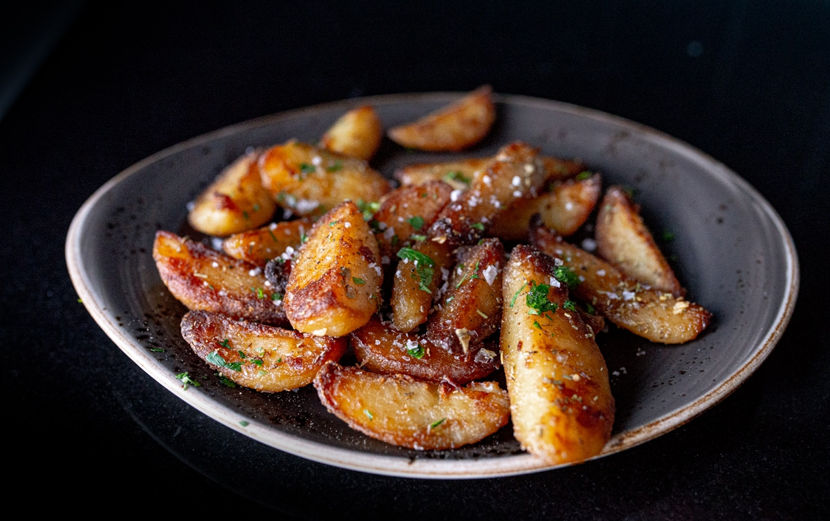 Perfekte stekte poteter