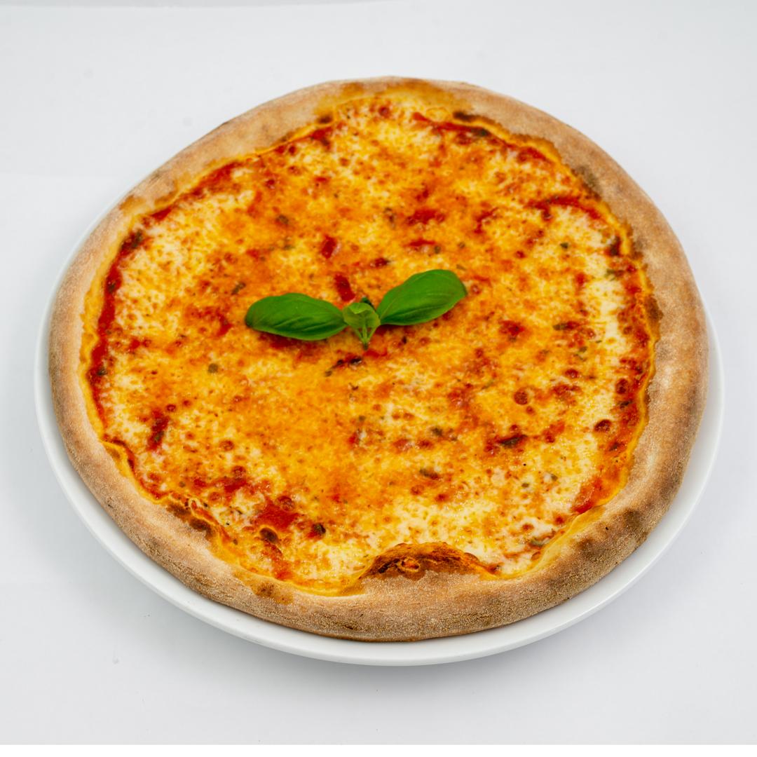 Pizza Margheritq fra Maschmanns Bakeri
