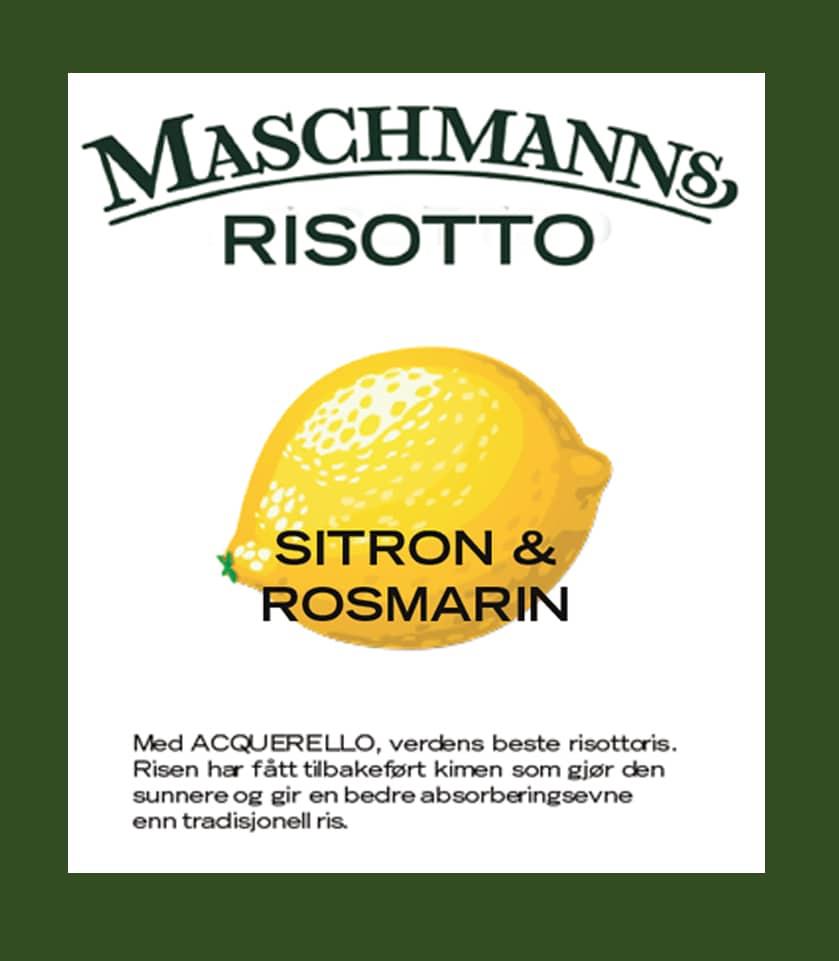 Maschmanns Sitronrisotto